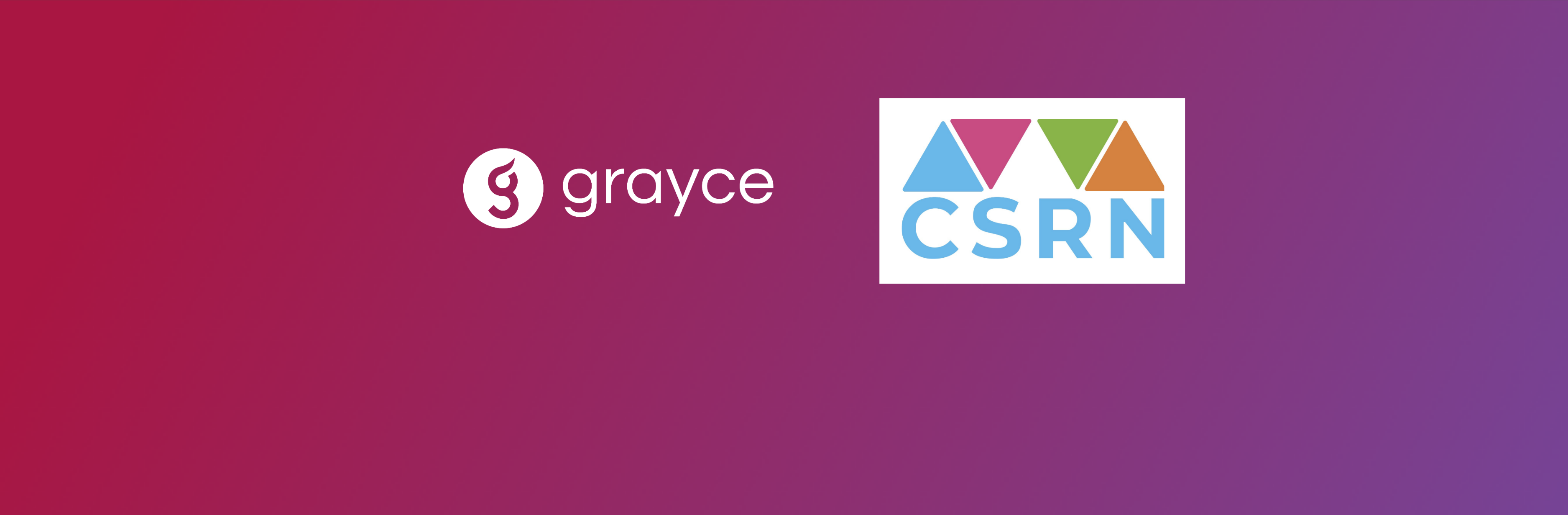 Grayce Announces Partnership with CSRN